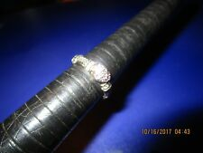 JUDITH RIPKA .925 Sterling Silver  DIAMONIQUE CZ HEART RING Rare Size 9.25