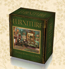 200 Antique Furniture Books on DVD - English Oak Jacobean Italian French Make 52