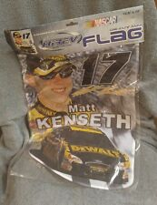 "NASCAR  - Die-Cut Flag Hi-Rev 12.5"" x 18"" - Matt Kenseth #17 NEW"