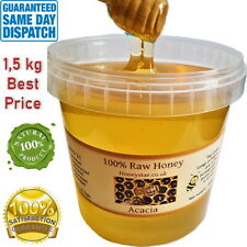 1.5kg Acacia 100% Natural PURE RAW HONEY 1.5KG NEW HARVEST