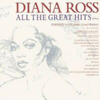 "DIANA ROSS ""ALL THE GREATEST HITS"" CD NEW!"