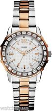 Guess Women's Dazzling Sport Petite Two-Tone Stainless Steel Watch U0018L3