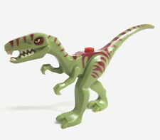 ANIMAL Lego Dino Olive Green Coelophysis w/dark red markings NEW 5887 Dinosaur