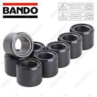 8 RULLI VARIATORE BANDO D.25 L.17 18,5G PIAGGIO 400 MP3 IE LT SPORT 2008-2011