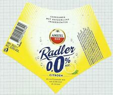 HOLLAND Amstel Brouwerij,Amsterdam RADLER 50cl beer label C2128 029