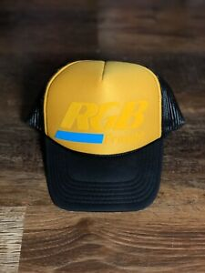 RGB Freight Trucker Hat Limited Edition OG RoyGBiv Roy G Biv ' Yellow '