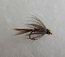 1 Dozen (12) Bead Head Soft Hackle Pheasant Tail Nymph Size 12 Fishing Flies
