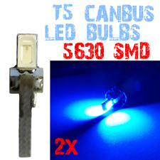 2 Lamp T5 LED 5630 Gereedschap Dashboard Interior Light Car Interior BLUE 2E8 2E