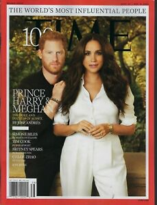 Time Magazine  September 27th 2021  The World's Most Influential People  Harry &