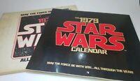 Vintage 1979 STAR WARS Picture Calendar 1st Edition Mail Away Ballantine Books