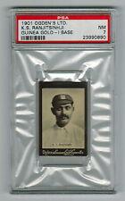 PSA 7  RANJITSINHJI  Cricket Card 1901 Ogden Cigarette Card (Highest One Graded)