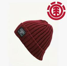 ELEMENT BEANIE - COUNTER - PORT RED