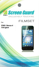 Screen Protector for LG E960 Mako Google Nexus 4 Anti-Glare