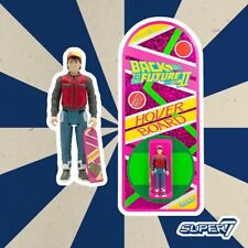 Super7 SDCC 2020 ReAction Figure Back To The Future Part 2 II Marty McFly Toy