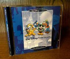 Walt Disney Records Official Album Walt Disney World Resort 2000 Cd Rare - Oop