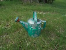 Galvanized #8 Two Handle Metal Sprinkling Watering Can