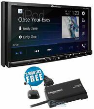 Pioneer AVH-600EX 2 DIN Bluetooth App Radio In-Dash FM Receiver + SiriusXM Tuner