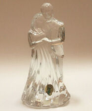 Waterford Crystal Wedding Cake Topper Bride & Groom Figurine Made in Ireland New