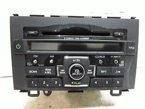 10 11 Honda CRV AM FM XM 6 disc CD radio receiver OEM 39100-SWA-A111-M1  1PN4