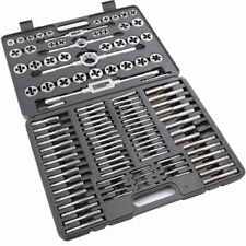 ENGINEERING TAP AND DIE SET HEAT TREATED POLISHED SURFACES 110 PC TUNGSTEN STEEL