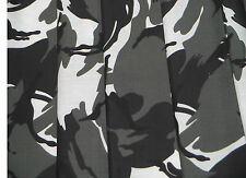 Black White Camouflage Army VW CAMPERVAN Curtains T2 4 T5 T25 Custom Made LINED