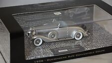 MINICHAMPS 437150330 - DUESENBERG SJN (SUPERCHARGED) CONVERTIBLE COUPE 1936 1/43