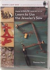 Metal Artist's Workbench, Learn to Use the Jeweler's Saw DVD Thomas Mann NEW