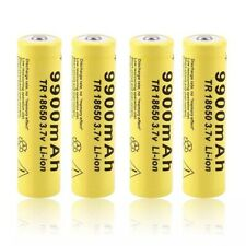 Lot DE 2 PILES  RECHARGEABLE mAh18650 3.7v 9900 mAh BATTERY LAMPE TORCHE