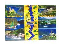 Rhein Köln Bonn Koblenz Foto Magnet Germany 8 cm Reise Souvenir