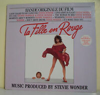 """33T LA FILLE EN ROUGE Film Disque LP 12"""" Stevie WONDER Dionne WARWICK - MOTOWN"""