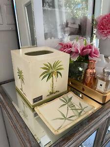 Croscill Home Tissue Box Cover & Soap Dish
