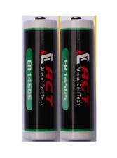 2 x ACT ER14505 LS14505 AA SIZE 3.6v 2700 mAh LITHIUM BATTERY