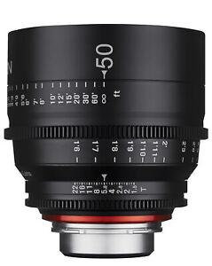 XEEN 50mm T1.5 Pro Cinema Lens (Nikon F)
