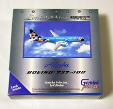 **EXTREMELY RARE** gemini jets 1:400 Alaska Disneyland 737-400 N784AS
