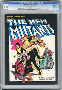 1982 Marvel Graphic Novel 4 CGC 9.8 White Pages