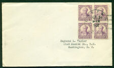 SCOTT # 725 B/4 FDC, NO CACHET, TYPED ADDRESS, EXETER, NH, GREAT PRICE!