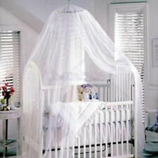 COT HALO COT CANOPY NETTING MOSQUITO NET BABY Infant BED Crib NET netting white