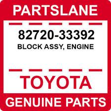 82720-33392 Toyota OEM Genuine BLOCK ASSY, ENGINE