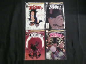 SEVEN SOLDIERS  ZATANNA 2005  LOT OF 4 COMICS...RUN #1-4 COMPLETE VF - NM
