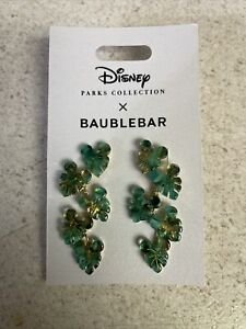 Disney Mickey Mouse Tropical Leaf Earrings by BaubleBar