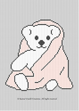 Crochet Patterns - BABY BEAR afghan pattern