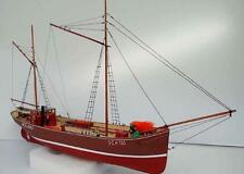 """Authentic, Intricate Model Ship Kit by Deans Marine: the """"Kristina Motorlogger"""""""