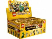New Factory Sealed LEGO 71001 Box/Case of 60 Minifigures Series 10 - Mr. Gold ?