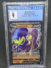 Pokemon Grapploct V 032/073 Champion's Path Ultra Rare Holo MT CGC 9 - Psa