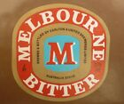 OLD AUSTRALIAN BEER LABEL, 1980s MELBOURNE BITTER CUB, 375 ML TYPE 2