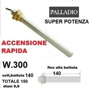 """CANDELETTA ACCENSIONE STUFE PELLET PALLADIO CON RACC.FILETTATO 3/8""""62652"""