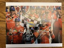 Authentic Chase Elliott & Alan Gustafson Signed Photo
