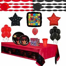 Five Nights At Freddys Party Supply Complete  Party Tableware and Balloon Set