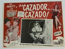 ABBOTT & COSTELLO in COMIN'ROUND THE MOUNTAIN 1951Original Movie Lobby Card