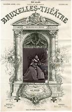 A. Delabarre, Bruxelles-Théâtre, Alice Bernardi, chanteuse lyrique Vintage album